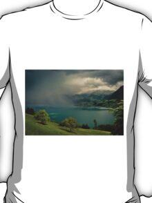 Arising storm over lake lucerne T-Shirt