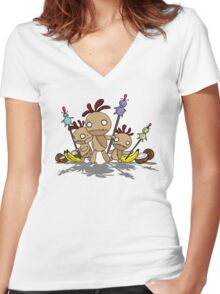 Voodoo Masters Women's Fitted V-Neck T-Shirt