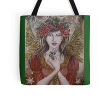 Yule christmas fairy angel  Tote Bag