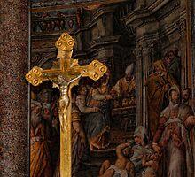 Cross in Church by Paul Jarrett