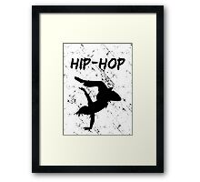 HIP-HOP Framed Print