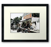 Biker Heaven Framed Print