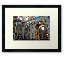 Church in Vatican, Rome Framed Print