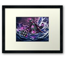 The Giant woman will save the day Framed Print