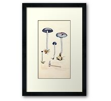 Coloured figures of English fungi or mushrooms James Sowerby 1809 0483 Framed Print