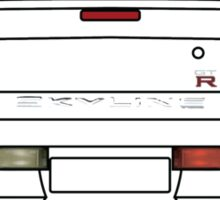 Nissan GTR R34 Black Sticker