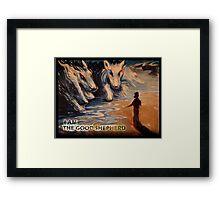 THE GOOD SHEPHERD Framed Print