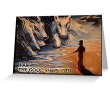 THE GOOD SHEPHERD Greeting Card