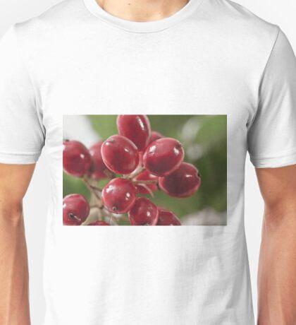 Wild Berry Cluster Macro Unisex T-Shirt