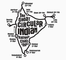 The Great Circular Indian Railway Challenge by Globetrooper
