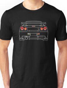 Nissan GTR R34 White Unisex T-Shirt