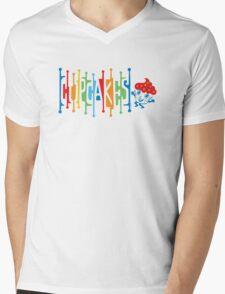 Retro Cupcakes - on lights Mens V-Neck T-Shirt