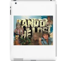 Land of the Lost Montage iPad Case/Skin