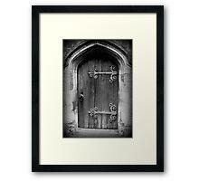 Enter ©  Framed Print