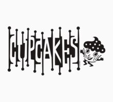 Retro Cupcakes - black Kids Clothes