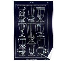 A Handbook Of Ornament With Three Hundred Plates Franz Sales Meyer 1896 0373 Vases Modern Drinking Glasses Inverted Poster