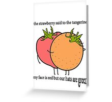 Bullet to the Binary Greeting Card