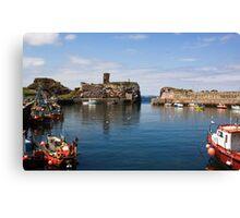 Dunbar Harbour Canvas Print