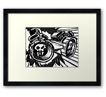 Ludicrous Speed Framed Print