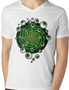 EMERALD PSY EYE by conor graham Ethereal C2010. Mens V-Neck T-Shirt
