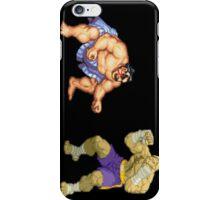 Street Fighter E.Honda vs. Sagat iPhone Case/Skin