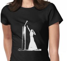 Joan Crawford Dynamite High Contrast Womens Fitted T-Shirt
