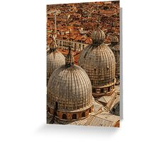 Venice Rooftops Greeting Card