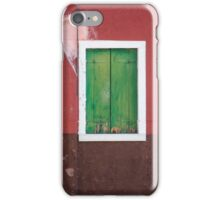 Venice window  iPhone Case/Skin