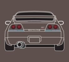 Nissan GTR R33 White by AutomotiveArt