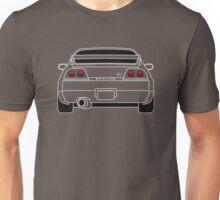 Nissan GTR R33 White Unisex T-Shirt