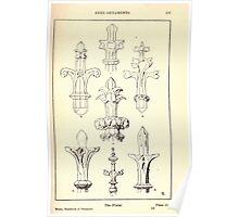 A Handbook Of Ornament With Three Hundred Plates Franz Sales Meyer 1896 0193 Free Ornaments Finial Poster