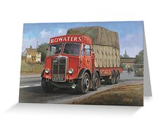 AEC Mammoth Major Bowwaters. Greeting Card