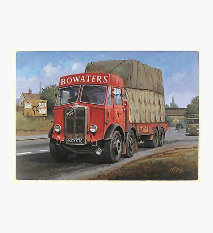 AEC Mammoth Major Bowwaters. Photographic Print