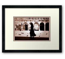 Catholic Nun Framed Print