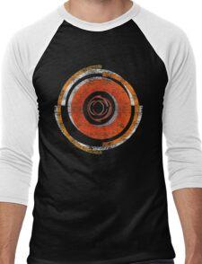 Broken In Circles and Off-centered Men's Baseball ¾ T-Shirt