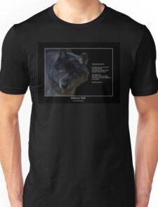 """""""Wilderness Wolf"""" Unisex T-Shirt"""
