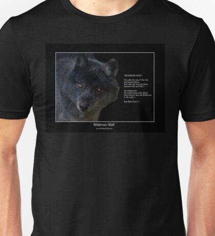 """Wilderness Wolf"" Unisex T-Shirt"