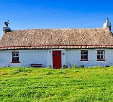 Irish Cottage by Stefan Schnebelt