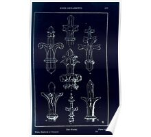 A Handbook Of Ornament With Three Hundred Plates Franz Sales Meyer 1896 0193 Free Ornaments Finial Inverted Poster