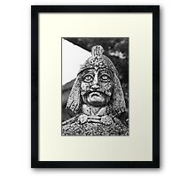 Vlad Tepes in Targoviste Framed Print