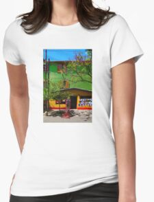 La Boca, Buenos Aires ARGENTINA Womens Fitted T-Shirt