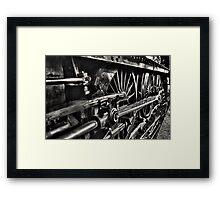 Locomotive 6989 Framed Print