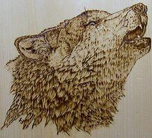 Wolf's Head by judykay