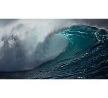 Raw power of Pacific Photographic Print