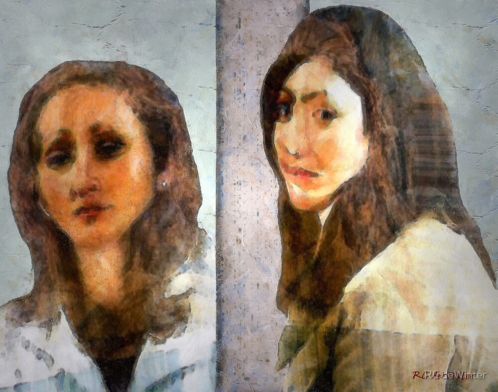 Two Women by RC deWinter