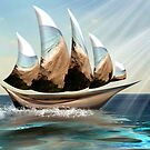 Boat from the Sea by GolemAura