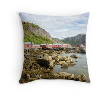 Rorbuer Relaxation Throw Pillow