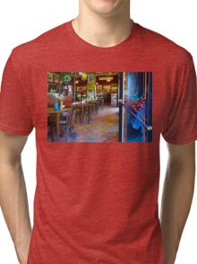 Vintage Cafe Interior in Caminito, Buenos Aires Tri-blend T-Shirt