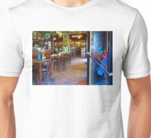Vintage Cafe Interior in Caminito, Buenos Aires Unisex T-Shirt