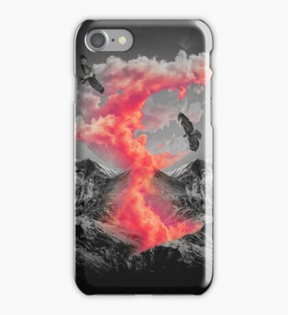 Burn Brighter In the Dark  iPhone Case/Skin
